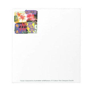 Floral Celebrtion - Notepad