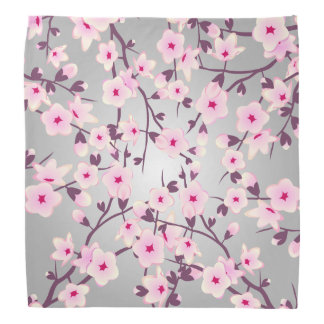Floral Cherry Blossoms Bandana