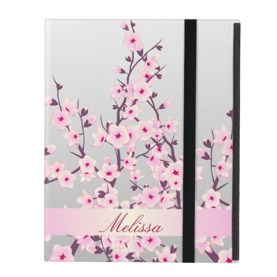 Floral Cherry Blossoms iPad 2/3/4 Case