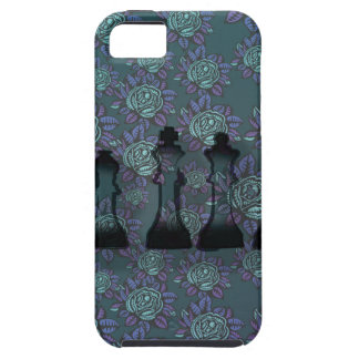 Floral Chess iPhone 5 Cover