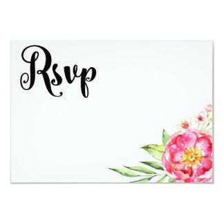 Floral Chic RSVP Card