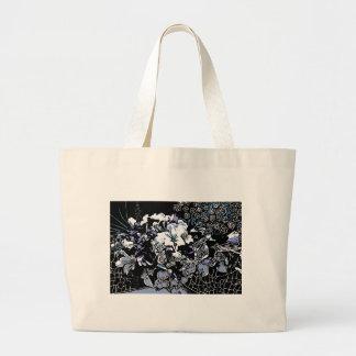 Floral Chrome Jumbo Tote Bag