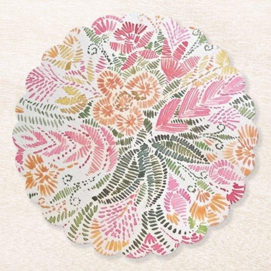 Floral Coaster