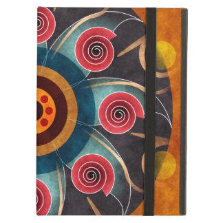 Floral Color Abstract Vector Art iPad Folio Case