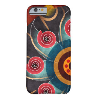 Floral Color Abstract Vector Art iPhone 6 case Barely There iPhone 6 Case