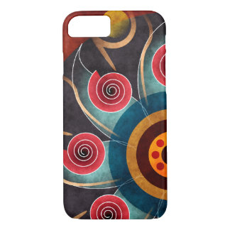 Floral Color Abstract Vector Art iPhone 7 case