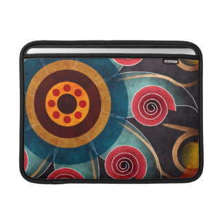 Floral Color Abstract Vector Art Macbook Air Sleeve For MacBook Air