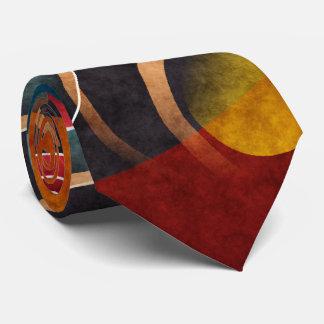Floral Color Abstract Vector Art Tie