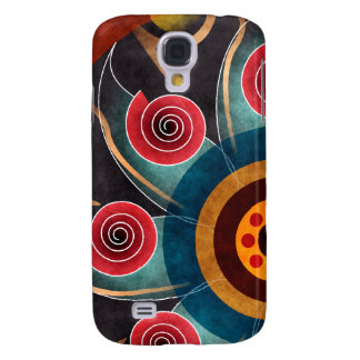 Floral Color Vector Art HTC Vivid Galaxy S4 Case