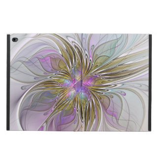 Floral Colorful Abstract Fractal With Pink & Gold Powis iPad Air 2 Case