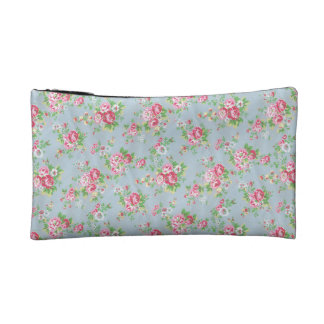Floral Cosmetic Bag