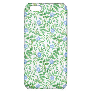 Floral Country-style Blue White Periwinkle Pattern iPhone 5C Cover
