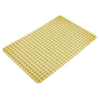 Floral-Crazy-Daisies-Walk(c)Yellow-Orange Floor Mat