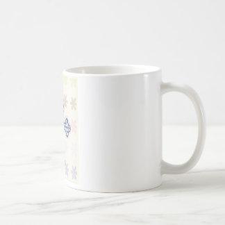 Floral Cross Mug