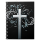 Floral Cross Notebook