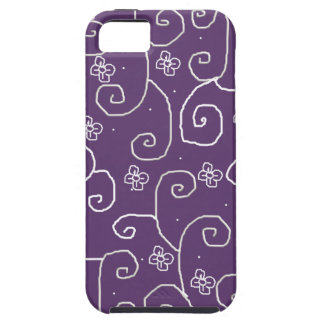 floral curls case for iPhone 5/5S