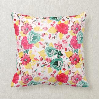 Floral cushion 40x40