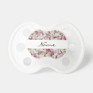 Floral Custom 0-6 months BooginHead® Pacifier