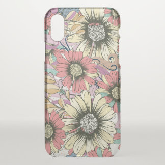 Floral Custom iPhone X Clearly™ Deflector Case