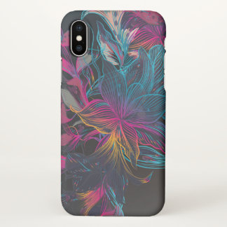Floral Custom iPhone X Matte Case
