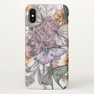 Floral Custom iPhone X Matte Case