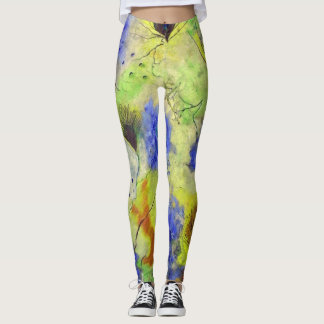 Floral Custom Leggings
