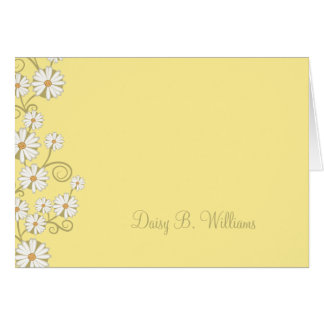 Floral (Daisy) Greeting Card
