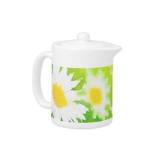 Floral Daisy Teapot
