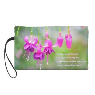 Floral Dance Bagette Wristlet