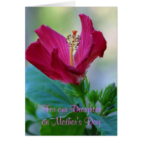 Floral Daughter Mother's Day Card