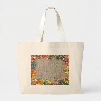 floral decor bags