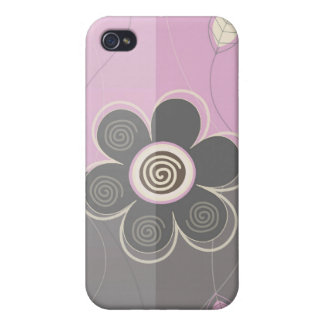 Floral Decor i Case For iPhone 4