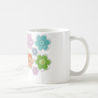 Floral Decor Coffee Mug