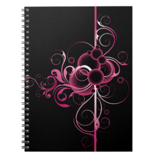 Floral Decoration Notebook