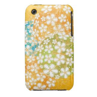 Floral Decorative Art iPhone 3 Cases