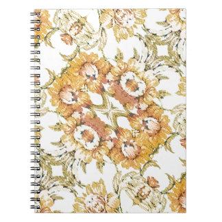 Floral Decorative Note Books