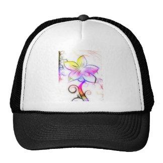 Floral Design 05 Cap