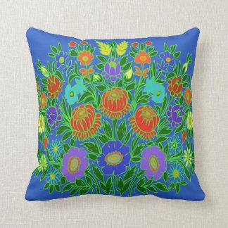 Floral Design #2 Throw Pillow