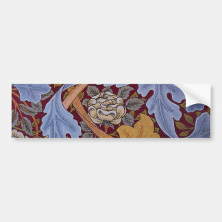 Floral Design Acanthus Vintage William Morris Bumper Sticker