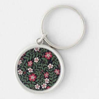 Floral Design by J. Owen, 1863 Key Ring