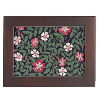 Floral Design by J. Owen, 1863 Memory Boxes
