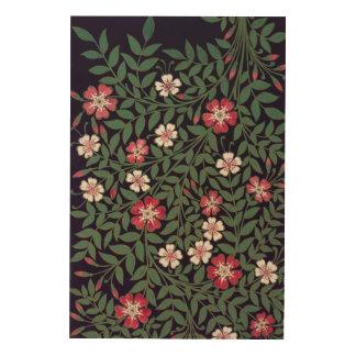 Floral Design by J. Owen, 1863 Wood Wall Art