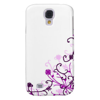 Floral design samsung galaxy s4 cover