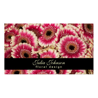 Floral Design - Florist Business Card