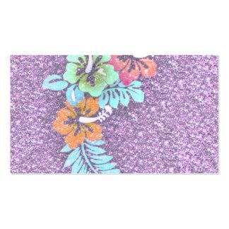 Floral Design GINA,pink Pack Of Standard Business Cards