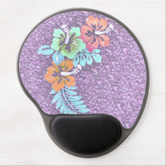 Floral Design GINA,pink Gel Mouse Pad