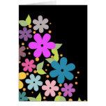 Floral design - Greeting card