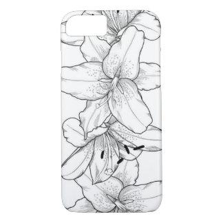 Floral design in ipad case
