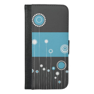 Floral Design iPhone 6/6s Plus Wallet Case