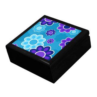 Floral Design Large Square Gift Box